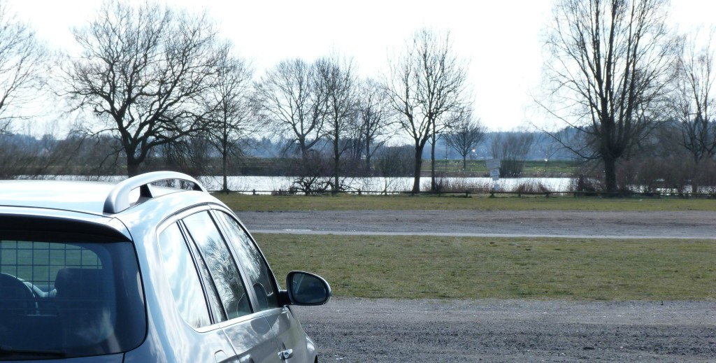 Parkplatz mit Aussicht